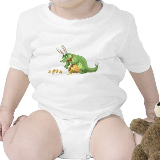 Cocodrilo de Pascua Camisetas