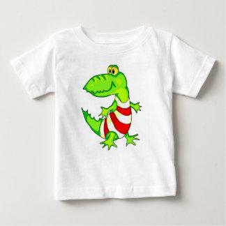 Cocodrilo del juguete del dibujo animado camisas