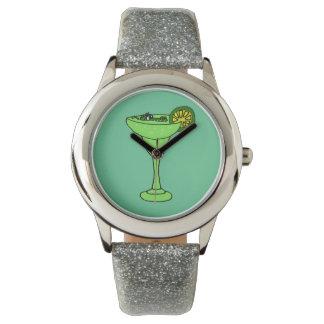 Cocodrilo en el reloj de Margarita