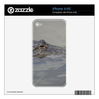 Cocodrilo en espera skin para el iPhone 4S