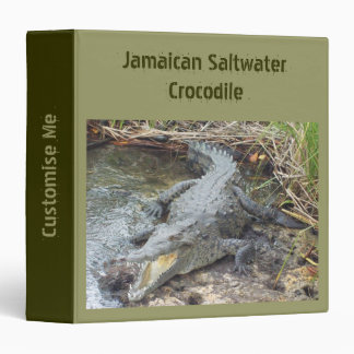 Cocodrilo jamaicano del agua salada