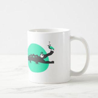 Cocodrilo juguetón taza