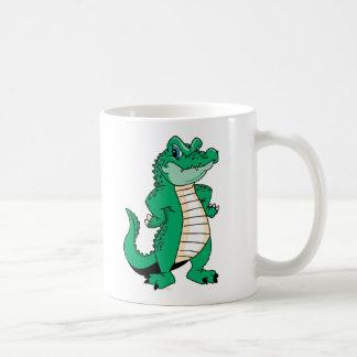 Cocodrilo lindo taza