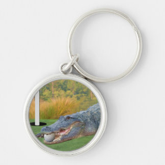 Cocodrilo, mentira peligrosa del golf llaveros personalizados