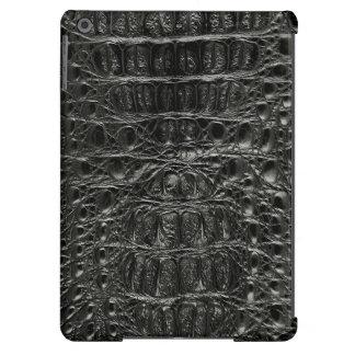 Cocodrilo negro clásico #101 funda para iPad air
