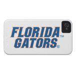 Cocodrilos de la Florida - azul y naranja iPhone 4 Cárcasas