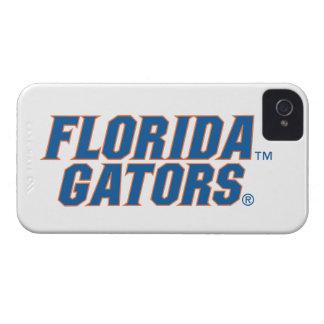 Cocodrilos de la Florida - azul y naranja iPhone 4 Protectores
