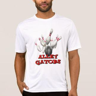 Cocodrilos del callejón camisetas