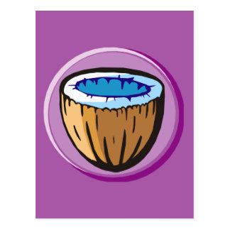 Coconut 1 postcard