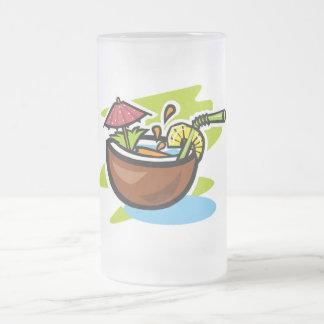 Coconut 2 Tropical Fruit Drink Mug