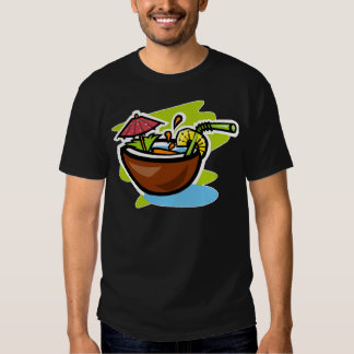 Coconut 2 Tropical Fruit Drink T-Shirt