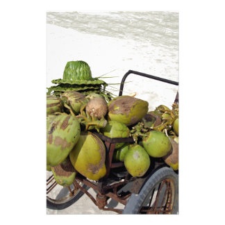 coconut business stationery