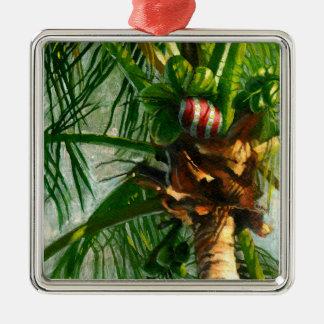 Coconut Christmas ornament