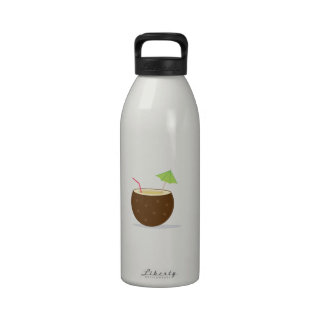 Coconut Cocktail Water Bottles