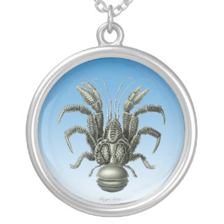 Coconut Crab Silver Plated Necklace