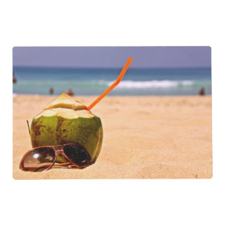 Coconut Dream, Laminated Placemats