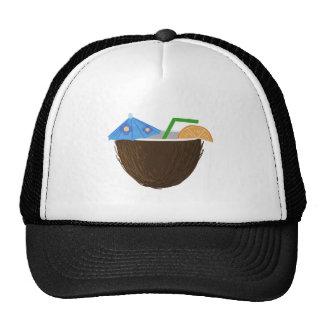 Coconut Drink Trucker Hat