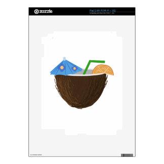 Coconut Drink iPad 2 Decals
