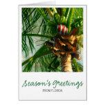 Coconut Florida Christmas Card