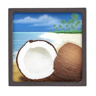 Coconut Getaway Jewelry Box