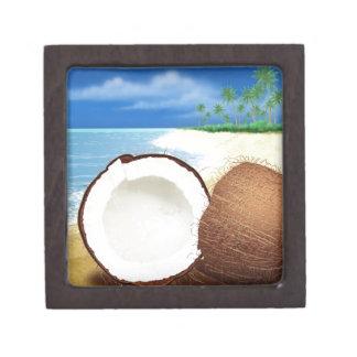 Coconut Getaway Keepsake Box