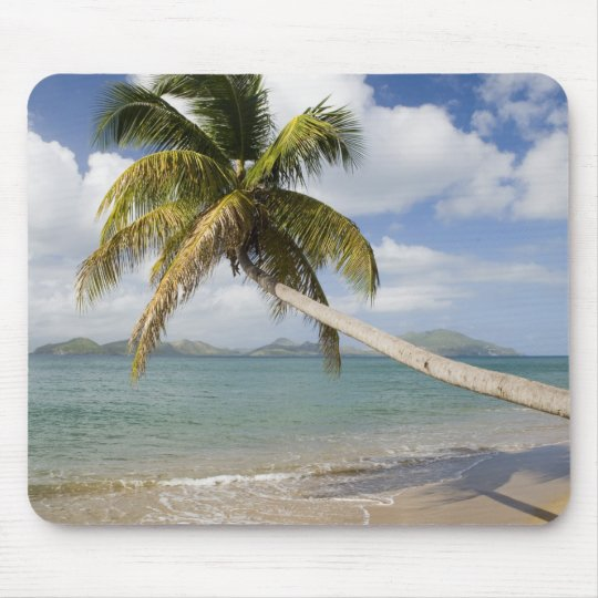 Coconut Grove Beach at Cades Bay, with St. Mouse Pad