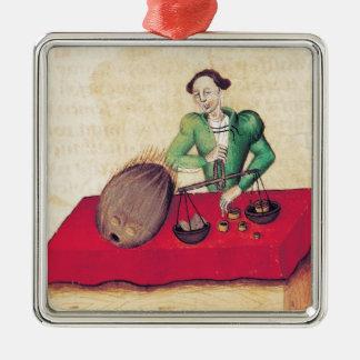 Coconut Merchant from the 'Tractatus de Metal Ornament