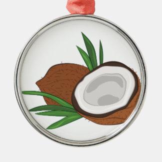 Coconut Metal Ornament
