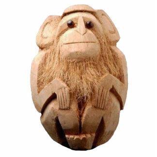 Coconut Monkey Pin Cutout