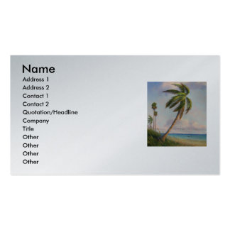 coconut, Name, Address 1, Address 2, Contact 1,... Business Card