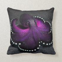Coconut Octopus Throw Pillow