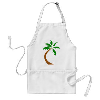 coconut-palm-312154 coconut palm tree curved twist apron