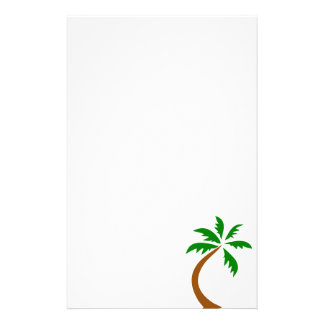 coconut-palm-312154 coconut palm tree curved twist stationery paper