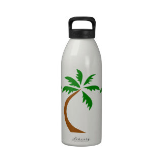 coconut-palm-312154 coconut palm tree curved twist drinking bottles