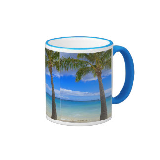Coconut Palm Ringer Mug