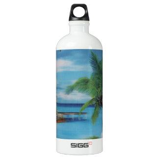 Coconut palm tree beach.jpg SIGG traveler 1.0L water bottle