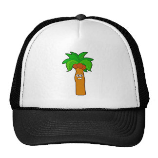 Coconut Palm Tree Dude Hats