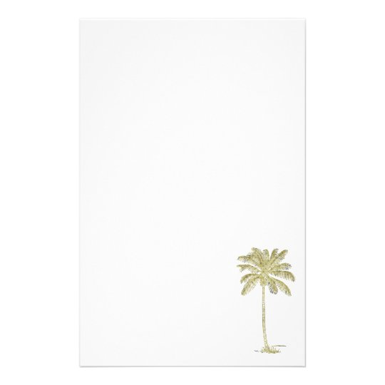 coconut palm tree illustration stationery zazzle com