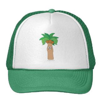 Coconut Palm Tree Trucker Hat