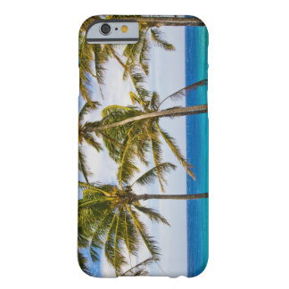 Coconut palm trees (Cocos nucifera) swaying in Barely There iPhone 6 Case
