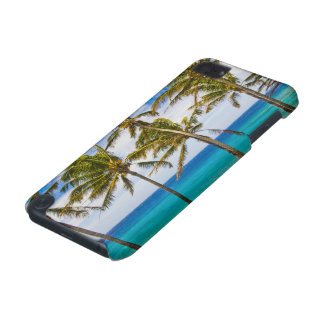Coconut palm trees (Cocos nucifera) swaying in iPod Touch 5G Cover
