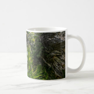 Coconut palms classic white coffee mug