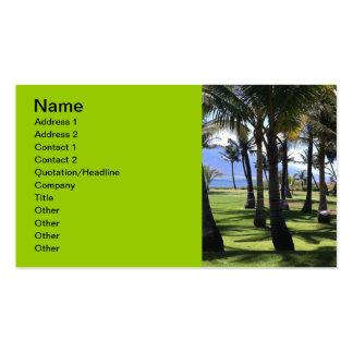 Coconut Palms Nui Hawaii Business Card