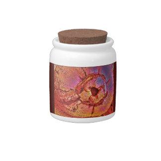 Coconut Photo Candy Jars