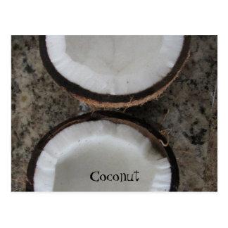 Coconut Postcard