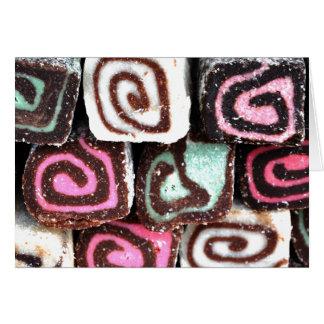 Coconut Roll Treats Card