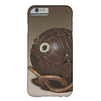 Coconut sculpted into a face, c.1895 barely there iPhone 6 case