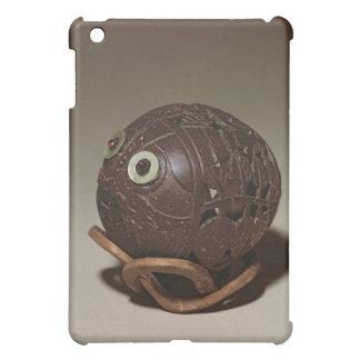 Coconut sculpted into a face, c.1895 iPad mini cover