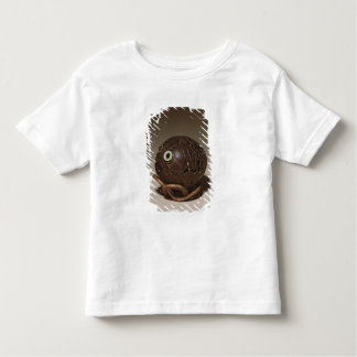 Coconut sculpted into a face, c.1895 toddler t-shirt