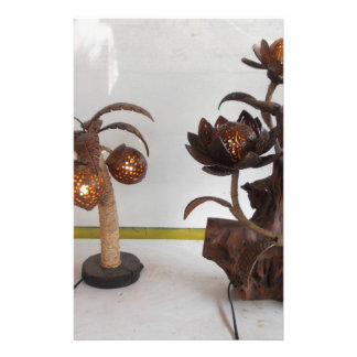 coconut shell lamp stationery